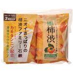 体臭・口臭対策通販 ペリカン ファミリー柿渋石鹸 2個セット 【5セット】