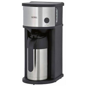 サーモス 真空断熱 ポット コーヒーメーカー ステンレスブラック ECF-700-SBK