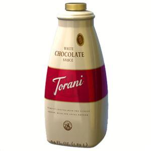 トラーニフレーバーソース ホワイトチョコレートソース 2640g
