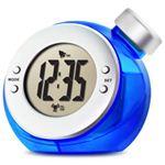 ベルソス ウォーター バッテリー アラームクロック(目覚まし時計) ブルー VS-302
