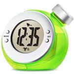 ベルソス ウォーター バッテリー アラームクロック(目覚まし時計) グリーン VS-302