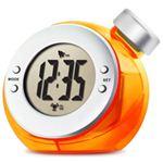 ベルソス ウォーター バッテリー アラームクロック(目覚まし時計) オレンジ VS-302
