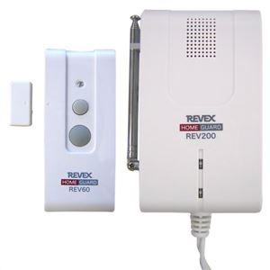 リーベックス ドア窓センサー&受信サイレン REV260