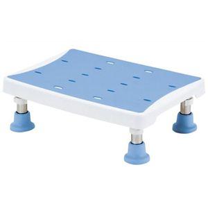 マキライフテック 浴槽台アシスト(台座) 2段階 ライトブルー YAS-L01LB