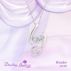 クロスフォーDancing Heart(ダンシングハート)  DH-007  【Wonder】 ダイヤモンドペンダント