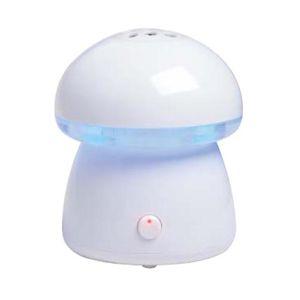 アピックス スチーム式アロマ加湿器 Mushroom AHD-020 ホワイト