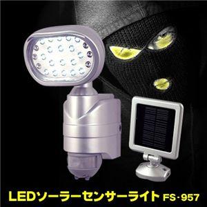 LEDソーラーセンサーライト FS-957