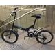 20インチ折畳自転車 ツヤ消しカラー グローイングフラット リミテッド 写真5