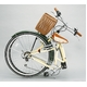WACHSEN 26インチ 折畳式シティサイクル シマノ6段変速付 アイボリー/モスグリーン 写真2