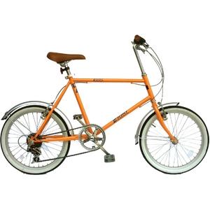 KIKI 20インチ スリムサイクル パールオレンジ