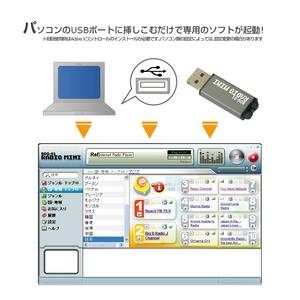 USB インターネットラジオ RADIO MINIの商品画像大3
