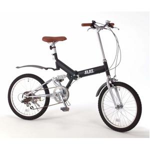 20インチ折畳自転車 グローイングフラット ツヤ消しカラー/ブラック + 自転車アクセサリー4種セットの詳細を見る