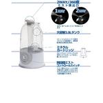 ミネラルカートリッジ付き超音波式加湿器 Mr.ミスト BBH-18