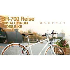 WACHSEN (ヴァクセン) 700Cアルミクロスバイク 6段変速 Reise+ダイナモライト+ワイヤーロックの詳細を見る