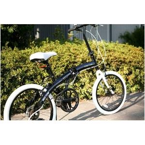 20インチアルミ折りたたみ自転車 6段変速付 Schwarz(シュヴァルツ) BA-102