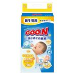 Goo.n(グーン) おむつ はじめての肌着 新生児用小さめサイズ 36枚 【4セット】