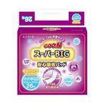 Goo.n(グーン) スーパーBIG安心吸収パッド 26枚 【6セット】