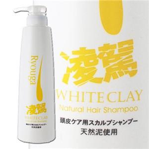 ホワイトクレイナチュラルヘアシャンプーの商品画像大