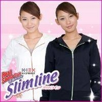 K-1 EX リアルサウナスーツ スリムライン ネイビー Mサイズ