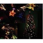 180cmファイバー付きゴージャスクリスマスツリー