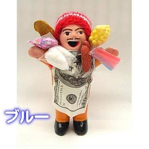 エケッコー(エケコ)人形 15cm ブルー