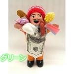 エケッコー(エケコ)人形 15cm グリーンの詳細ページへ