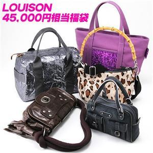 4万5000円相当!LOUISON(ルイゾン)バッグ☆フランス製☆セレブ福袋 M100000L4