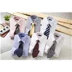 銀座・丸の内のOL100人が選んだワイシャツ&ネクタイセット(カラー系) S 50172-S