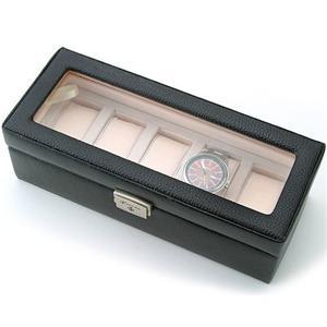 牛革製時計ケース 5本 189994