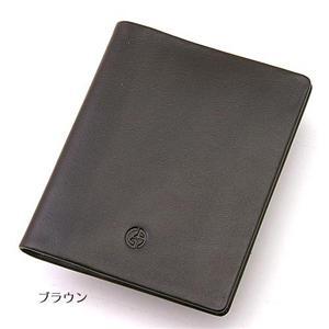 GIORGIO ARMANI カードケース 147 ブラウン