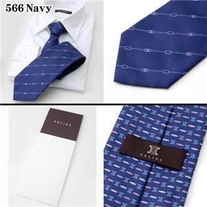 CELINE(セリーヌ) ネクタイ 566 Navy