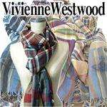 Vivienne Westwood(ヴィヴィアンウエストウッド) 2010新作マフラー ブラック/ ブルー
