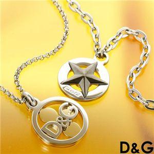 D&G(ディアンドジ―) ネックレス DJ0888/【スター】シルバー&メタル