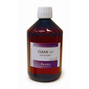 アットアロマ 100%pure essential oil <CLEAN air ラベンダー(450ml)>