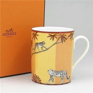 Hermes(エルメス) アフリカブラウン マグカップ 4634