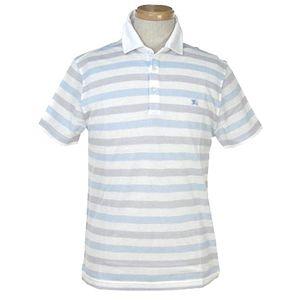 Burberry(バーバリー) BRUCI R ポロシャツ 5 WT/BL/GR 2041