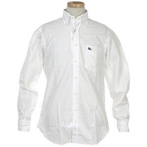 Burberry(バーバリー) CROMETON L/Sシャツ 3 WT/BL 0013