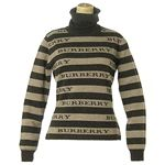 <strong><strong>Burberry(バーバリー) </strong>KOBU T/NL/S<strong>セーター</strong> 42</strong> BE/BR 6