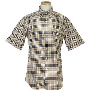 Burberry(バーバリー) N SUSSEX M/C S/Sシャツ 5 CAM 0005