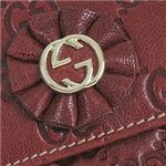 GUCCI(グッチ) 190382 D4C1G 6206 Wホック RED