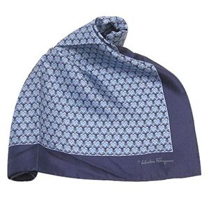 Ferragamo(フェラガモ) ポケットチーフ 7541 NV 002