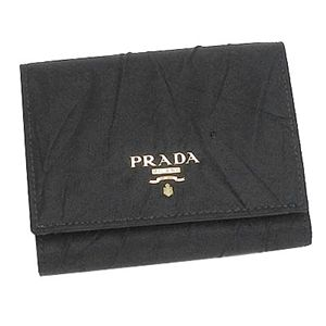 PRADA(プラダ) 1M0176 TESSUTO CRISPY 3ツオリコ BK