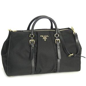 PRADA(プラダ) BN1609 TESS+SOFT CALF BT BK