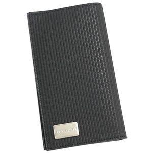 BVLGARI(ブルガリ) 25550 MILLE RIGHE 2つ折カード入 BK