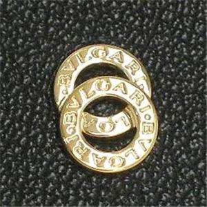 Bvlgari(ブルガリ) 26817 DOPPIO TONDO 名刺入れBK/GO