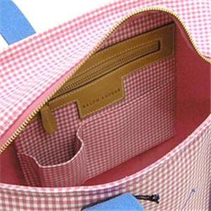 Ralph Lauren(ラルフローレン) Gingham Zip トートバッグ 463PPTZP Pink