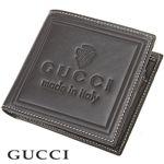 GUCCI(グッチ) 二折財布 LABEL 190435 B6U0N 1000 ブラック
