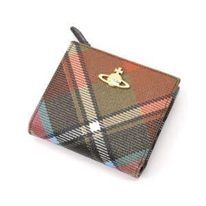 Vivienne Westwood(ビビアン・ウエストウッド) ダービー 2つ折財布 1424V MULTI