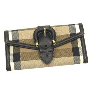 Burberry (バーバリー)  CLS PURSE HOUSE CHECKナガサツBK
