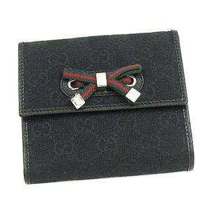 Gucci (グッチ) 167465 FCEZG 1060 Wホック BK
